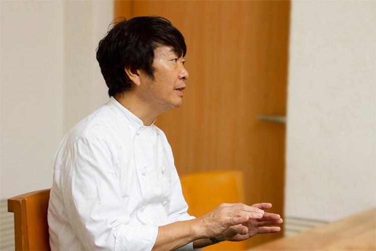 笹島シェフ